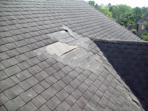 damaged roof sc