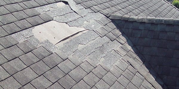Repairing a shingle roof in Greenville